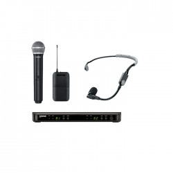 Shure - BLX1288E/SM35 Dual Wireless System