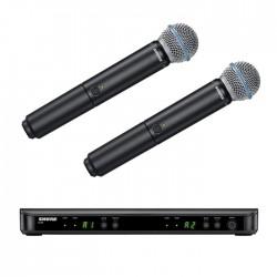Shure - BLX288E/B58 Telsiz Mikrofon