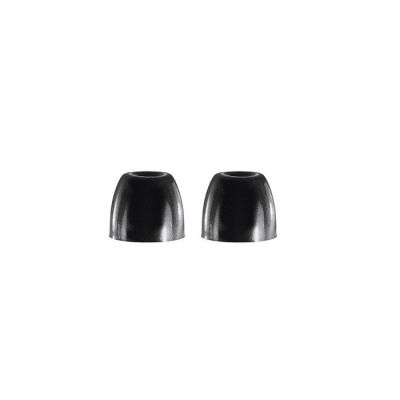 EABKF1-10L Large Siyah Slikon. (5 Çift İçerir)