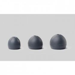 Shure - EASFX1-10L Soft Slikon (Gri), (5 çift) L