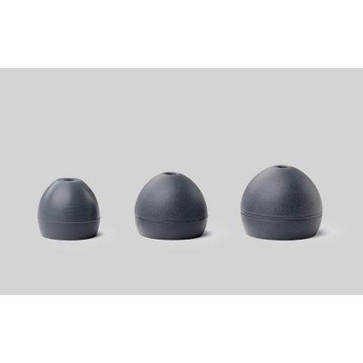 EASFX1-10L Soft Slikon (Gri), (5 çift) L