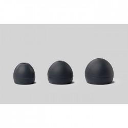 Shure - EASFX2-10L Soft Slikon (Siyah), (5 çift) L
