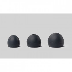 Shure - EASFX2-10S Soft Slikon (Siyah), (5 çift) S