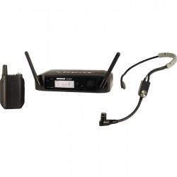 Shure - GLXD14E/SM35 Headset Tipi Telsiz Mikrofon