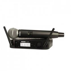 Shure - GLXD24E/SM58 Kablosuz SM58 El Mikrofonu Sistemi