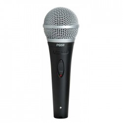 Shure - PG58-XLR-B El Tipi Dinamik Vokal Mikrofon