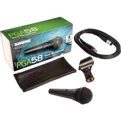 PGA58 XLR-E Dinamik Solist Mikrofonu