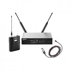Shure - QLXD14/150/C Yaka Tipi Telsiz Mikrofon Seti
