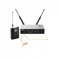 Shure - QLXD14/153B Earset Headworn Kafa Telsiz Mikrofon Seti