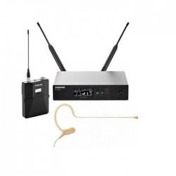 Shure - QLXD14/153T Earset Headworn Kafa Telsiz Mikrofon Seti