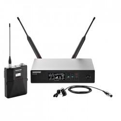 Shure - QLXD14/84 Yaka Tipi Telsiz Mikrofon Seti