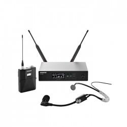 Shure - QLXD14E/SM35 Headset Telsiz Mikrofon Seti