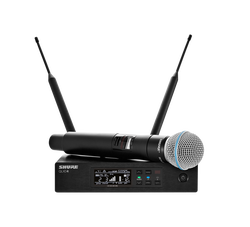 Shure - QLXD24E/B58 El Tipi Kapsül Telsiz Mikrofon Seti