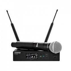 Shure - QLXD24/SM58 El Tipi Telsiz Mikrofon Seti