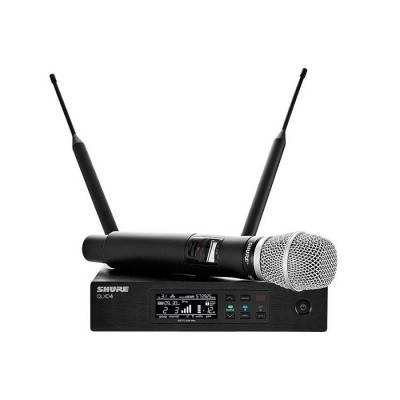 QLXD24/SM87 El Tipi Telsiz Mikrofon Seti