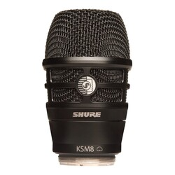 Shure - RPW174 Dualdyne Ksm8 Wıreless Head Black