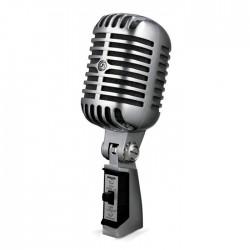 Shure - 55SH Series II Nostaljik Sahne Mikrofonu (Elvis Mikrofonu)