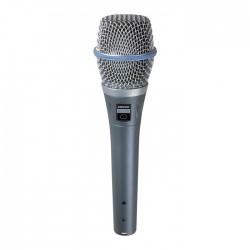 Shure - BETA 87C Kardioid Condenser El Tipi Vokal Mikrofon