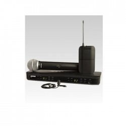 Shure - Shure BLX1288E/CVL Dual Channel Combo Wireless System