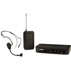Shure - BLX14E/PG30 Kablosuz PG30 Headset Mikrofon Sistemi