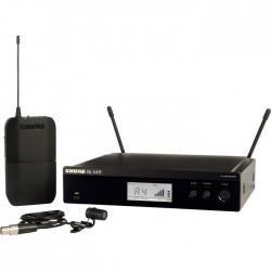 Shure - BLX14E/W85 Kablosuz WL185 Yaka Mikrofonu Sistemi