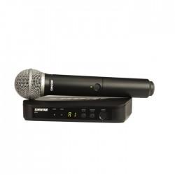 Shure - BLX24E/PG58 Kablosuz PG58 El Mikrofonu Sistemi