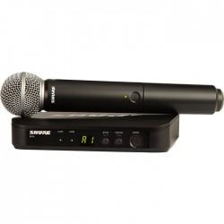 Shure - BLX24E/SM58 Kablosuz SM58 El Mikrofonu Sistemi