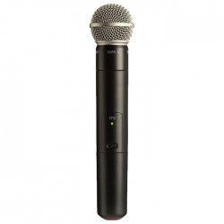Shure - FP2/SM58 Kablosuz Dahili Vericili SM58 El Tipi Telsiz Mikrofon