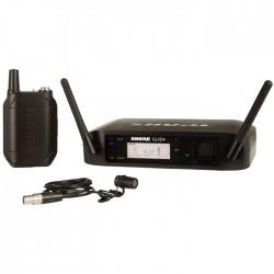 Shure - GLXD14E/85 Kablosuz WL185 Yaka Mikrofonu Sistemi