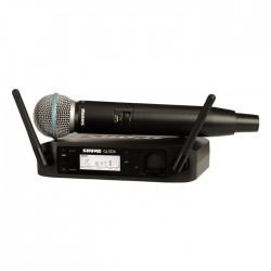 Shure - GLXD24E/B58 Kablosuz BETA 58A El Mikrofonu Sistemi