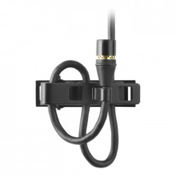 Shure - MX150B/C-TQG Condenser Yaka Mikrofonu - Siyah (Mini-XLR)