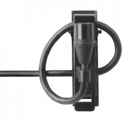 Shure - MX150B/O-TQG Her Yöne Condenser Yaka Mikrofonu - Siyah (Mini-XLR)