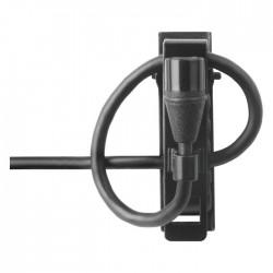 Shure - MX150B/O-XLR Her Yöne Condenser Yaka Mikrofonu - Siyah