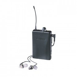 Shure - P2R Bel Tipi Hybrid Mikrofon Alıcısı