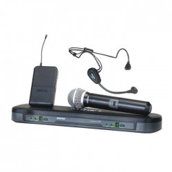 Shure - PG1288E/PG30 Kablosuz İkili Headset ve El Telsiz Mikrofon Seti