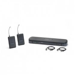 Shure - PG188E/PG185 Kablosuz İkili Yaka Mikrofon Seti