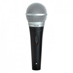 Shure - PG48-XLR Dinamik Vokal ve Karaoke Mikrofonu