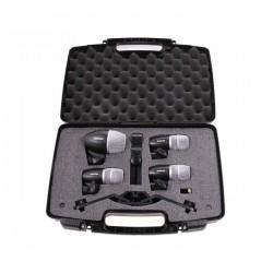 Shure - PGDMK4-XLR 4′lü Davul Mikrofon Seti