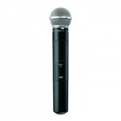 Shure - PGX2/SM58 Dahili Vericili SM58 El Tipi Telsiz Mikrofon