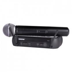 Shure - PGX24E/SM58 El Tipi Telsiz Mikrofon Sistemi