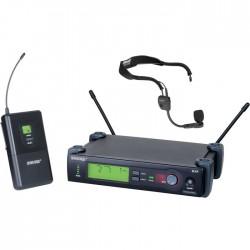 Shure - SLX14E/WH20 Kablosuz Headset Mikrofon Sistemi