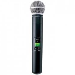 Shure - SLX2/SM58 Dahili Vericili SM58 El Tipi Telsiz Mikrofon