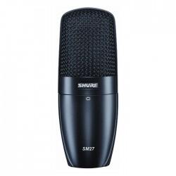 Shure - SM27-LC Çok Amaçlı Geniş Diyafram Condenser Mikrofon