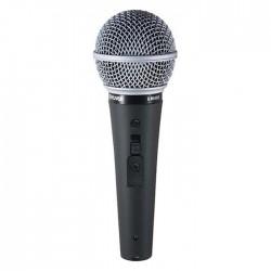 Shure - SM48S-LC Switch Düğmeli El Tipi Karaoke Mikrofonu