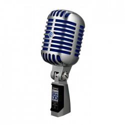 Shure - Super 55 Lüks Canlı Performans Mikrofonu