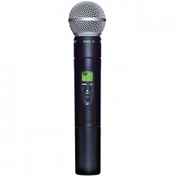 Shure - ULX2/58 Dahili Vericili SM58 El Tipi Telsiz Mikrofon