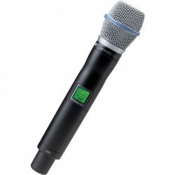Shure - UR2/BETA87C Dahili Vericili BETA 87C El Tipi Telsiz Mikrofon