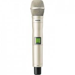 Shure - UR2/KSM9/SL Dahili Vericili KSM9 El Tipi Telsiz Mikrofon (Şampanya Rengi)
