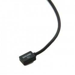 Shure - WL93-6 Kablosuz Condenser Yaka Mikrofonu - Siyah (1.2m Kablo ile)