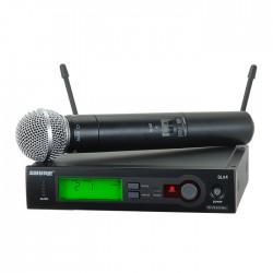 Shure - SLX24E/SM58 El Tipi Kablosuz Mikrofon Sistemi